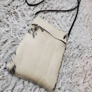 Cowhide Small Crossbody Bag